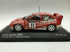 1/43 MINICHAMPS FORD ESCORT WRC RAC RALLY 1997 #11 TOSHIBA VATANEN model car