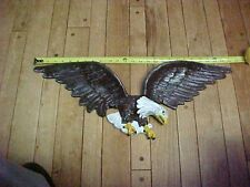 "(1) Painted Flying Eagle plaque for your house or garage 24 "" wide x 9"" high"