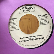 Saturday Night Band Touch Me On My Hot Spot Come On Dance Dance Promo WLP Soul