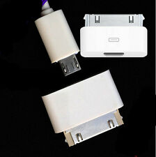 Lightning 8 Pin Female to 30Pin Male Adapter for iPhone 4 4S iPad 3 iPod Touch