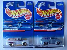 Lot of 2 Hot Wheels '56 Ford Panel Truck, Combine Shipping, First Edition plus
