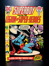 COMICS: DC: Superboy #198 (1973), Legion of Super-Heroes - RARE (figure)