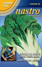 SEMENTE IN NASTRO - BIETOLA DA COSTE Verde a Costa Bianca