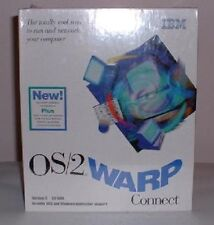 OEM IBM OS/2 WARP Connect V3 & BonusPak CD plus diskettes NIB Factory Sealed