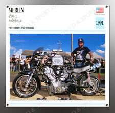 VINTAGE Merlin 1991 4500cc Rolls-Royce IMAGE BANNER NOS IMAGE REPRODUCTION