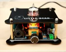Black Little bear match  6N11 12AU7 6922 Tube valve HiFI Headphone Amplifier AMP