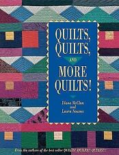 Quilts, Quilts and More Quilts!, Diana McClun, Laura Nownes, Good Book