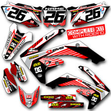 1990 1991 CR 250 GRAPHICS KIT CR250 MOTOCROSS DIRT BIKE TOUGH 21 MIL MX DECALS