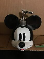Disney Mickey Mouse Soap / Lotion Dispenser New