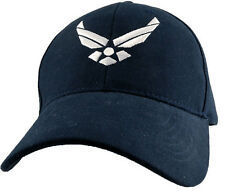 U.S. Air Force Insignia Hat - USAF Dark Navy Baseball Cap 6154