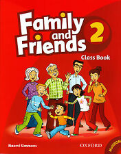 Oxford FAMILY AND FRIENDS 2 Class Book with MultiROM / Naomi Simmons @BRAND NEW@