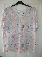 ladies cross back top Ex Per Una size 18 NEW