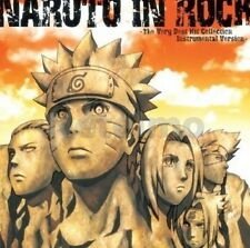 0898 NARUTO IN ROCK The Very Best Hit Collection Instrumental Ver. Soundtrack CD
