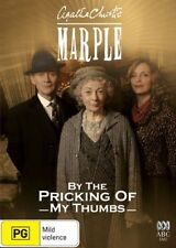 AGATHA CHRISTIE MISS MARPLE - BY THE PRICKING OF MY THUMBS  DVD NEW NEW