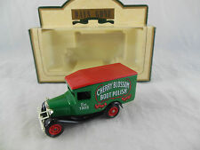 LLedo Promotional DG013072 1934 Ford Model A Van Cherry Blossom Boot Polish