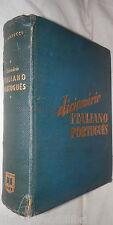 DICIONARIO ITALIANO PORTUGUES Oberdan Masucci Leia 1957 Linguistica Portoghese