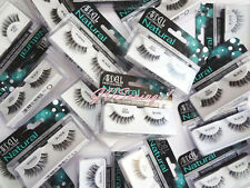 LOT ~ 50 PAIRS ARDELL False Eyelashes  Fake Lashes Black Fashion Invisibands