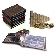 60 Slots Money Penny Pocket Coin Collection Holder Storage Album Book for gift