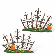 SVH GOTHIC GATE FENCE Snow Village Halloween Dept 56 Accessory 810642 NEW D56