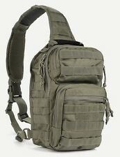 Military Tactical Bug Out Sling Bag Backpack Hunting Carry Conceal Olive Drab