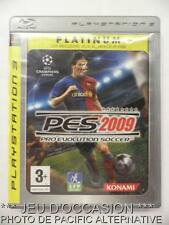 OCCASION: Platinum Jeu PES 2009 ps3 playstation 3 sony francais foot ball soccer