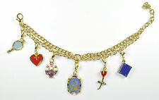 BEAUTY AND THE BEAST OFFICIAL BROADWAY CHARM BRACELET- SUSAN EGAN