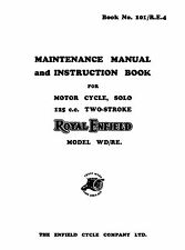 Royal Enfield WD model WD/RE maintenance manual