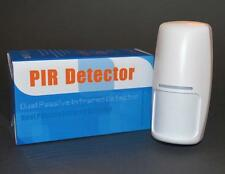 2 x Wireless PIR Motion Sensors With Internal Aerials,433mhz,9v. U.K. Stock