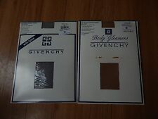 Givenchy Hosiery Body Gleamers Control Top Size A Silver Fox Pale Gold Style 156