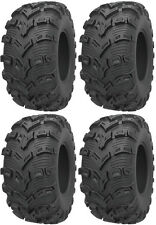 Four 4 Kenda Bearclaw EVO ATV Tires Set 2 Front 26x9-14 & 2 Rear 26x11-14 K592