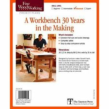 Fine Woodworking's A Workbench 30 Years in the Making Plan [Misc. Supplies] [...