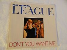 "Human League ""Don't You Want Me"" PICTURE SLEEVE! MINT! ONLY NEW COPY ON eBAY!"
