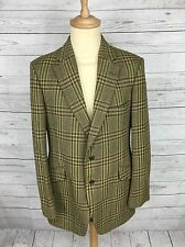 Mens Bladen Tweed Hacking Jacket/Blazer - 42R - Green - Great Condition