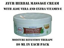 AYUR MASSAGE CREAM WITH ALOE VERA PREVENTS AGEING & DULLNESS OF SKIN PACK OF 3
