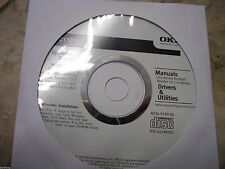New ! Genuine Okidata OKi C110 Printer CD Software Drivers Utilities and Manuals