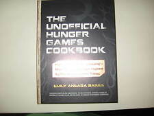 THE UNOFFICIAL HUNGER GAMES COOKBOOK - HARDBACK - NEW