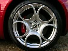 "18"" ALFA ROMEO SPORT REPLACEMENT ALLOY WHEELS BRAND NEW SILVER 257"