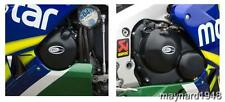 R&G ENGINE CASE COVER KIT (2 Covers) for HONDA CBR600RR, 2003 to 2006