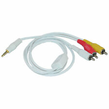 6ft 3.5mm AV Audio Video Cable for iPod, 6 foot  10A1-05106
