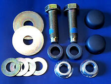 7/16 Bolts Nuts Caps Washers Spacers (Seatbelt Fixings Classic Car Set Screw)