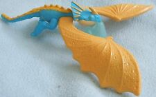 HOW TO TRAIN YOUR DRAGON 2 - STORMFLY Blue & Yellow DRAGON Figure Toy - New