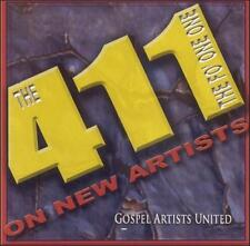 Various Gospel Artists The 411 On New Artists (CD, Music, Religious, Brand New)