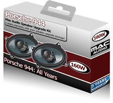 "Porsche 944 Rear Hatch speakers Mac Audio 4x6"" car speaker kit 160W"