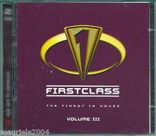 Firstclass 3. Finest House 20 (2001) 2CD NUOVO Nightcrawlers Push The Feeling On