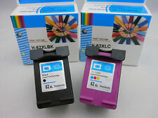 HP 62XL Black & HP 62 XL Color Ink Cartridge for HP Officejet 5745 5742 5740-2Pk