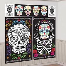 día de los muertos Halloween Kit Decoración Pared Escena Regulada