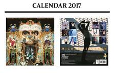 MICHAEL JACKSON OFFICIAL 2017 CALENDAR + MICHAEL JACKSON WARNING DOOR SIGN