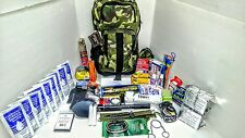 6 Day Disaster Emergency Survival Kit Bug Out Bag Earthquake with FOOD & WATER