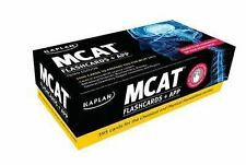 Kaplan Test Prep: MCAT Flashcards and App 3E by Kaplan (2014, Cards,Flash Cards)
