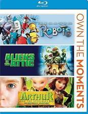Robots/Aliens in the Attic/Arthur and Invisibles 2  3 (Blu-ray Disc, 2013)